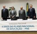 Seminário Nacional - 4 anos do Plano Nacional de Educação - PNE