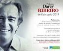 Abertura do Prazo de Indicações para o Prêmio Darcy Ribeiro de Educação - Edição 2019