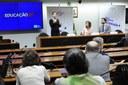 """Ciclo de Debates, em 08/05/19, da Frente Parlamentar Mista da Educação: """" Educação Já - Uma estratégia nacional para a educação""""."""