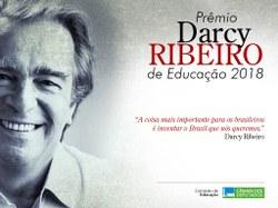 Encerrado o prazo para indicações ao Prêmio Darcy Ribeiro de Educação