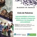 Palestra sobre o tema: Intersetorialidade na Primeira Infância