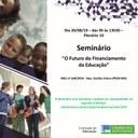 Publicação do Ciclo de Seminários Financiamento da Educação Básica no Brasil