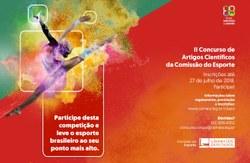Artigos vencedores do II Concurso da Comissão do Esporte