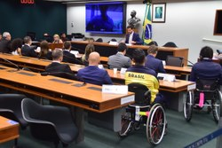 Comissão encerra série de audiências com confederações olímpicas