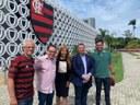 Deputados fiscalizam o Centro de Treinamento do Flamengo