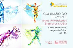 Jogos Universitários Brasileiros: plano de realização da edição de Brasília será apresentado em audiência pública da Cespo