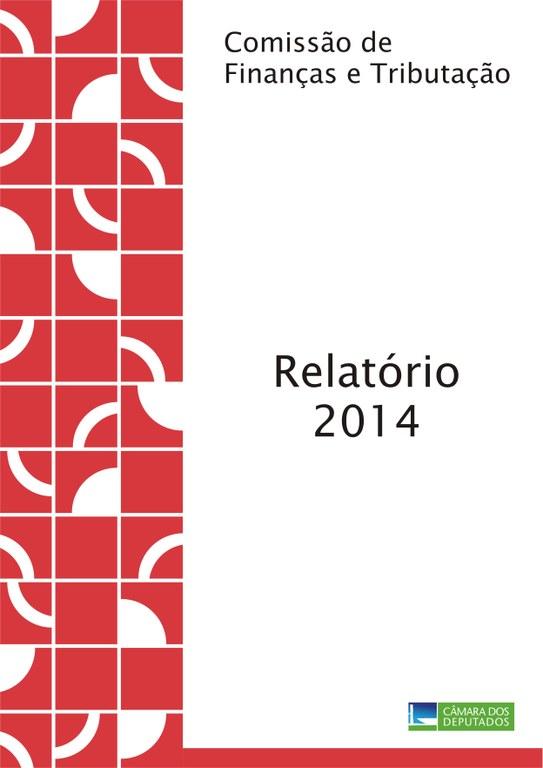 Capa Relatório de Atividades 2014