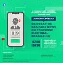 CLP promoverá debate sobre os desafios das Fake News no processo eleitoral brasileiro