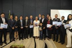 Entidades da sociedade civil recebem o reconhecimento da CLP por sua atuação na Câmara dos Deputados