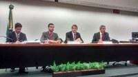 A Comissão do Meio Ambiente e Desenvolvimento Sustentável (CMADS) elege o 1º Vice-Presidente, Leonardo Monteiro (PT/MG)