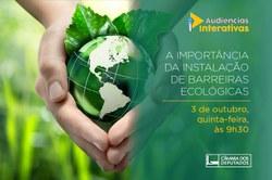 """CMADS realizou Audiência Pública sobre a """"Importância da Instalação de Barreiras Ecológicas"""""""