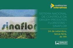 CMADS realizouAudiência sobre Sistema Nacional de Controle da Origem Produtos Florestais - Sinaflor