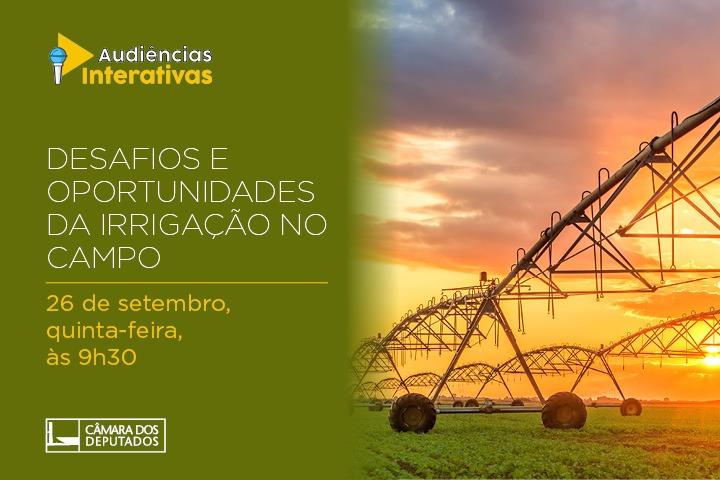 """CMADS promoveu Audiência sobre """"Desafios e Oportunidades da Irrigação no Campo"""""""
