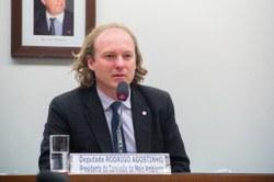 Rodrigo Agostinho é eleito presidente da Comissão de Meio Ambiente da Câmara dos Deputados