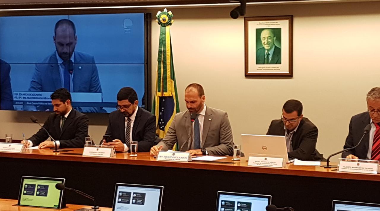 Audiência pública debateu o atual quadro político da Venezuela