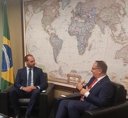 Brasil e Albânia querem fortalecer relacionamento bilateral
