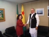 Brasil e Paquistão podem criar grupo de amizade na Câmara