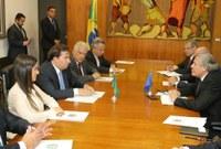 Bruna Furlan defende ajuda humanitária para venezuelanos em reunião com Secretário-Geral da OEA