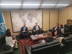 Eduardo Bolsonaro discute temas da agenda internacional com União Europeia