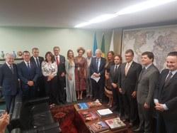 Grupo Parlamentar Brasil – Itália terá Plano de Ação e foco na cooperação