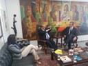 Nilson Pinto discute agenda de trabalho da CCAI com Fernando Collor