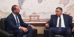 Presidente da CREDN recebe  Embaixador do Egito