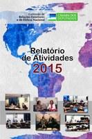 Relatório de Atividades de 2015