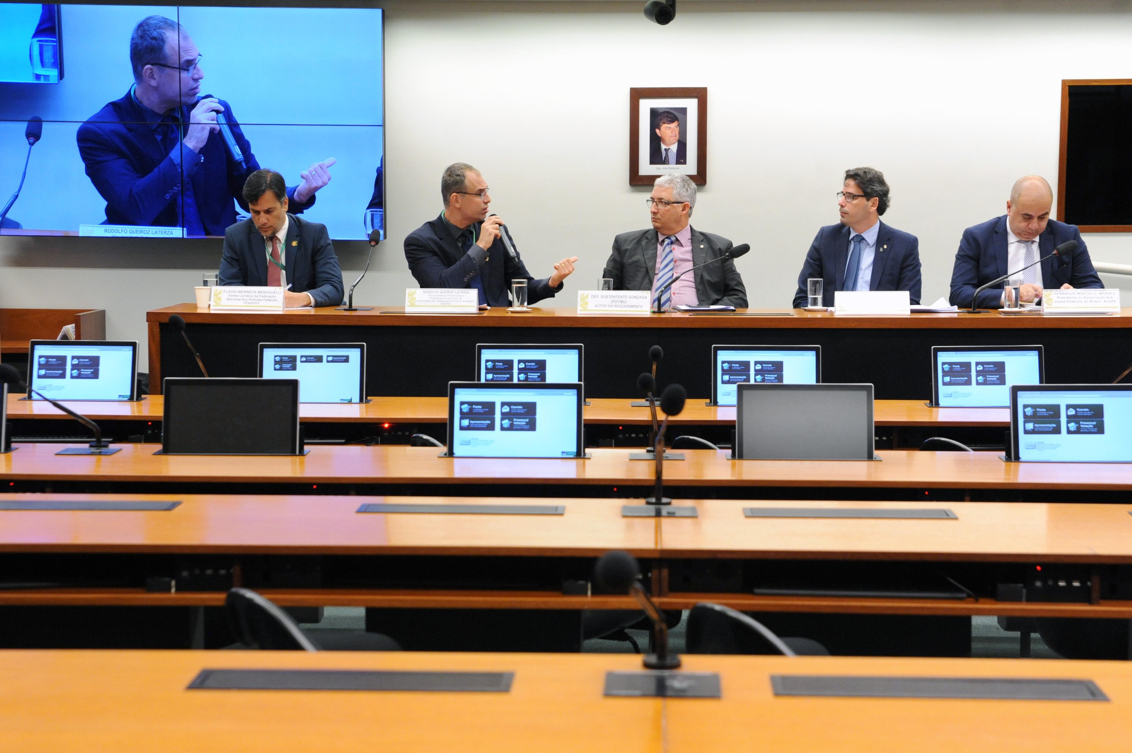 Comissão realiza audiência pública para debater a Federalização de Crimes em casos de Violação dos Direitos Humanos