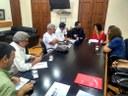 A Comissão Externa se reúne com a vereadora Talíria Petrone