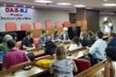Comissão Externa se reúne na sede da OAB/RJ para dialogar com representantes das entidades da sociedade civil
