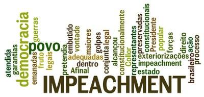 Nuvem de Palavra Impeachment