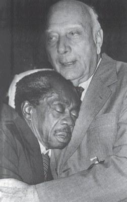 Ulysses Guimarães e Grande Otelo