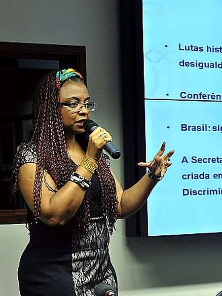 Audiência pública com a ministra da Secretaria de Políticas de Promoção da Igualdade Racial da Presidência da República, Nilma Lino Gomes