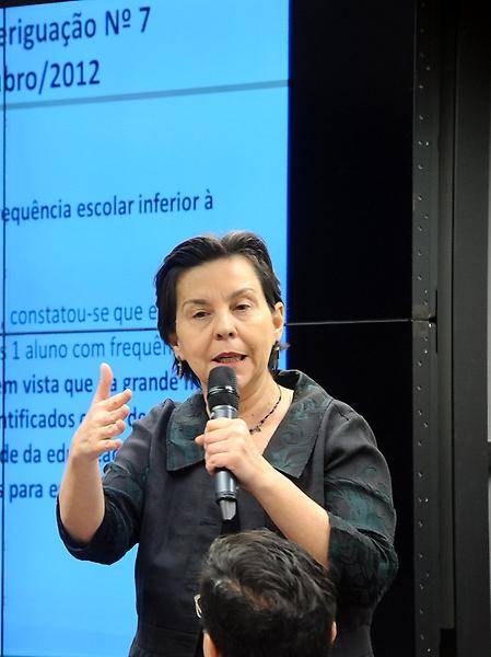Reunião com a ministra Tereza Campello para exposição das ações desenvolvidas pelo Ministério do Desenvolvimento Social e Combate à Fome