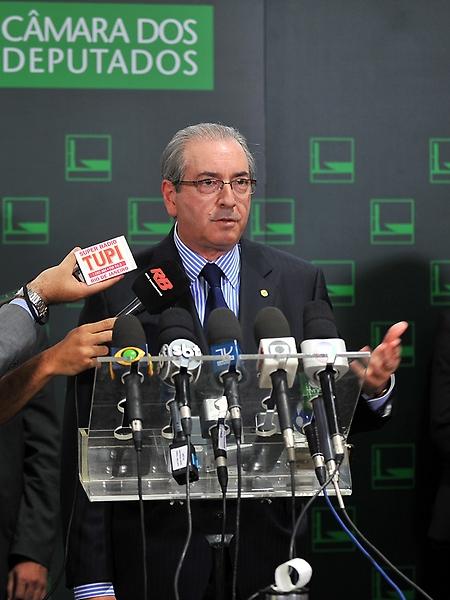 Entrevista Dep. Eduardo Cunha sobre a pauta da semana