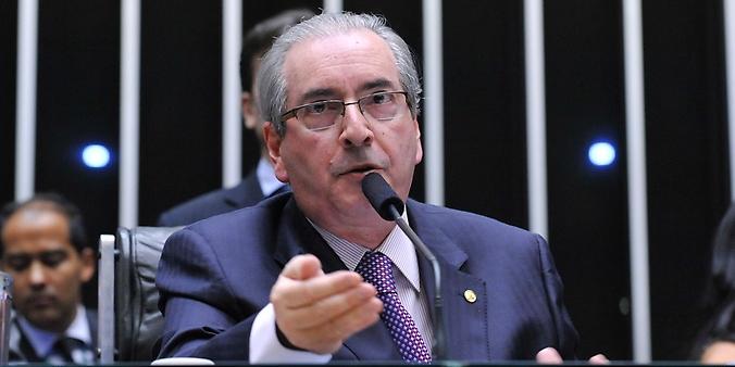 Presidente da Câmara dos Deputados, Eduardo Cunha (PMDB-RJ), anuncia em Plenário o cronograma de votação do pedido de impeachment da presidente Dilma Rousseff