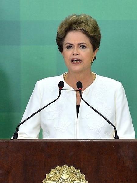 Presidenta Dilma Rousseff - pronunciamento