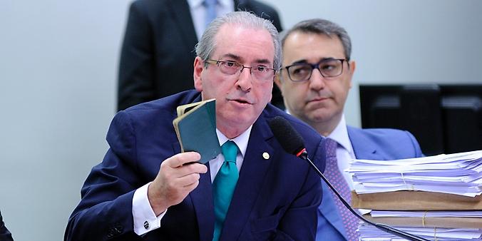 Reunião ordinária para oitiva do deputado Eduardo Cunha (PMDB-RJ) que veio fazer sua defesa no colegiado, onde enfrenta um processo que pode resultar na cassação do mandato como parlamentar
