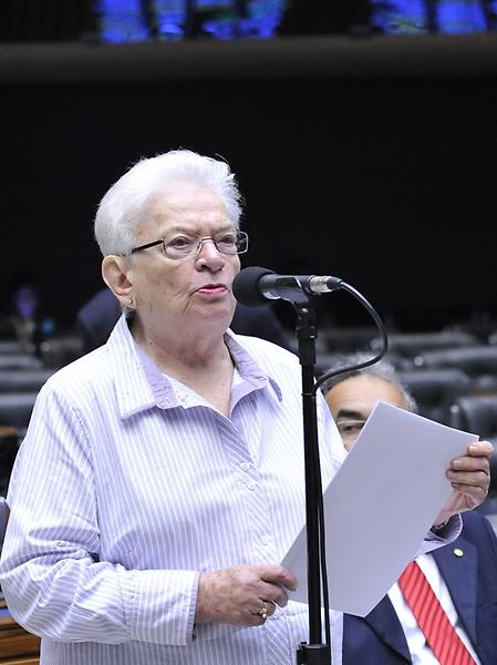 Deputada Luiza Erundina