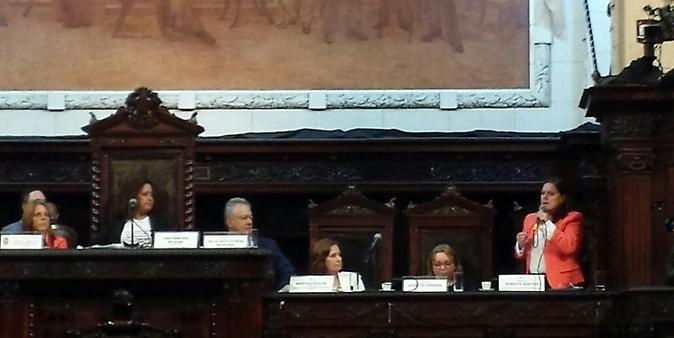Soraya Santos - Comissão externa que acompanha investigações sobre estupro coletivo no Rio de Janeiro - audiência pública