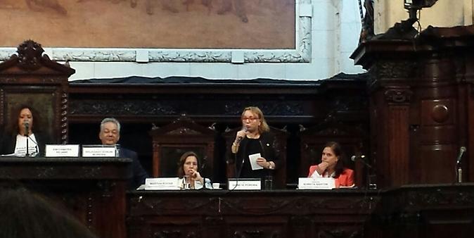 Gorete Pereira - Comissão externa que acompanha investigações sobre estupro coletivo no Rio de Janeiro - audiência pública
