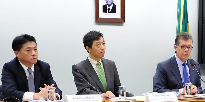 Câmara do Comércio e Indústria do Japão apresenta propostas para atrair mais investimentos para o Brasil