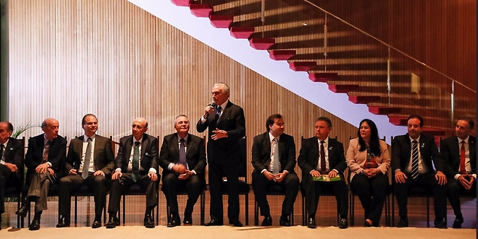 Reunião do presidente Temer com líderes da base governista no Palácio Alvorada