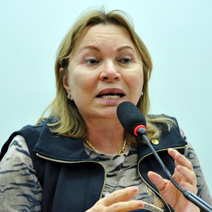 Audiência pública para debater acerca da redução dos recursos destinados às Universidades Federais, conforme Proposta de Lei Orçamentária 2017. Dep. Gorete Pereira (PR-CE)