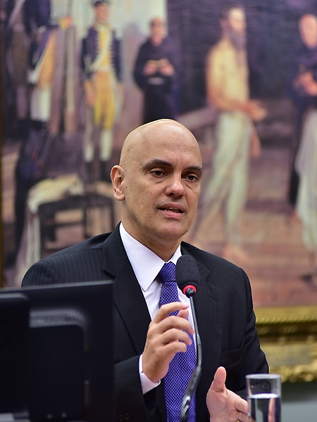 Audiência pública para tratar da Federalização da Segurança Pública do Distrito Federal. Ministro da Justiça e Cidadania, Alexandre de Moraes