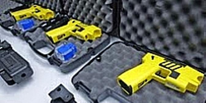 Segurança pública - Armas - Pistola taser - Choque 2