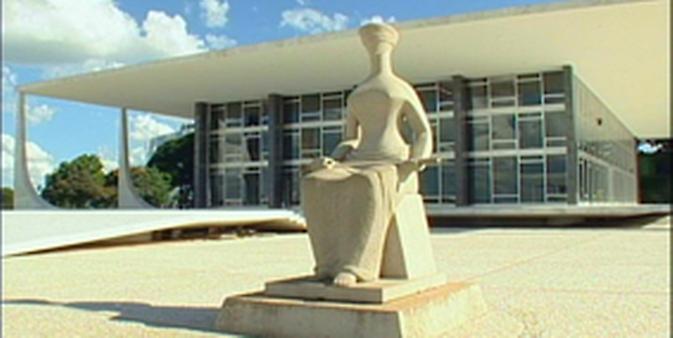 Brasília - Monumentos e prédios públicos - STF 283x173