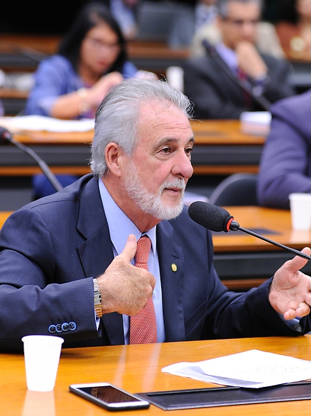 Audiência pública sobre a realização do Censo Agropecuário 2017, em todo o território nacional. Dep. Carlos Melles (DEM-MG)