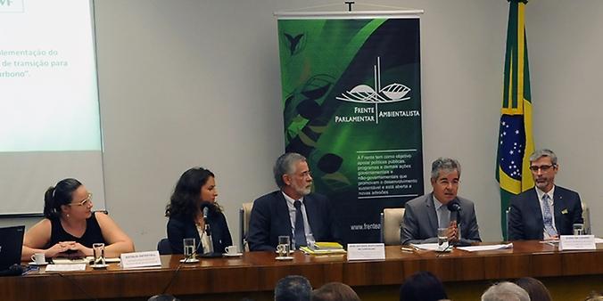 """Café da manhã seguido do Seminário: """"Acordo de Paris: a implementação do compromisso brasileiro e o processo de transição para uma economia de baixo carbono"""""""