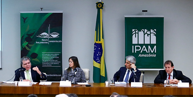 Frente Parlamentar Ambientalista, Observatório do Código Florestal e o Instituto de Pesquisa Ambiental da Amazônia (IPAM) realizam o seminário: 5 Anos do Código Florestal: desafios e oportunidades
